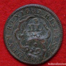 Monedas de España: CUATRO MARAVEDIS DE FELIPE III (SEGOVIA, REAL INGENIO, 1602). Lote 245952155