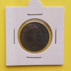 Monedas de España: ANTIGUA MONEDA DE ESPAÑA CINCO CENTIMOS ALFONSO XII 1878 (PÁTINA OSCURA), REVERSO GIRADO IZQ.. Lote 246006100