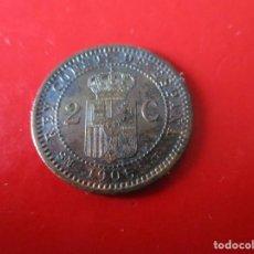Monedas de España: ALFONSO XIII. 2 CENTIMO. 1905 SMV. Lote 246135040