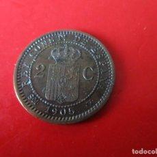 Monedas de España: ALFONSO XIII. 2 CENTIMO. 1905 SMV. Lote 246135490