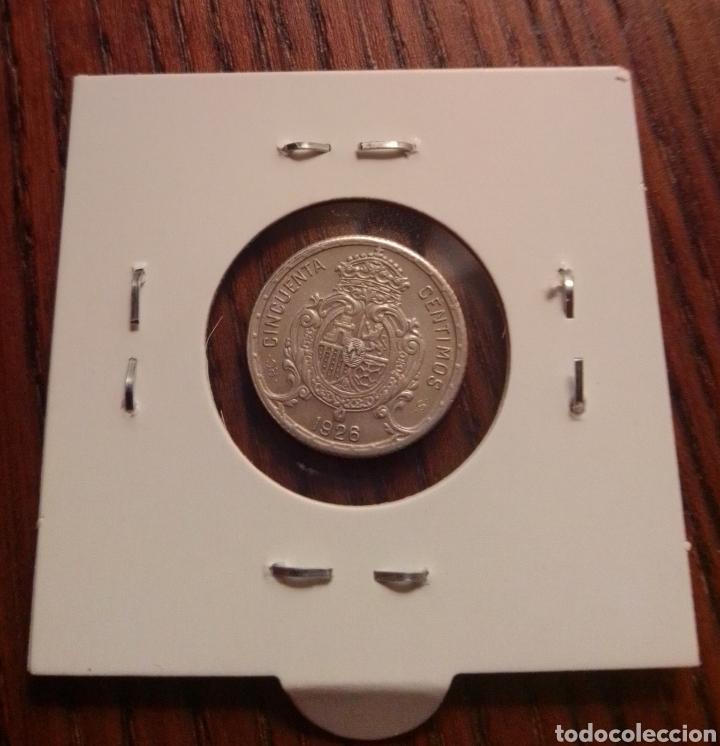 Monedas de España: Moneda 50 céntimos plata 1926 - Foto 2 - 246148525
