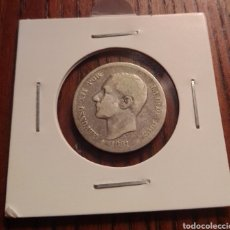Monedas de España: MONEDA 1 PESETA PLATA 1881. Lote 246149855