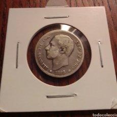 Monedas de España: MONEDA 1 PESETA PLATA 1882. Lote 246150470