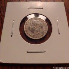Monedas de España: MONEDA 50 CENTIMOS PLATA 1900.. Lote 246188365
