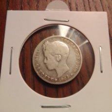 Monedas de España: MONEDA 1 PESETA 1902. Lote 246188455