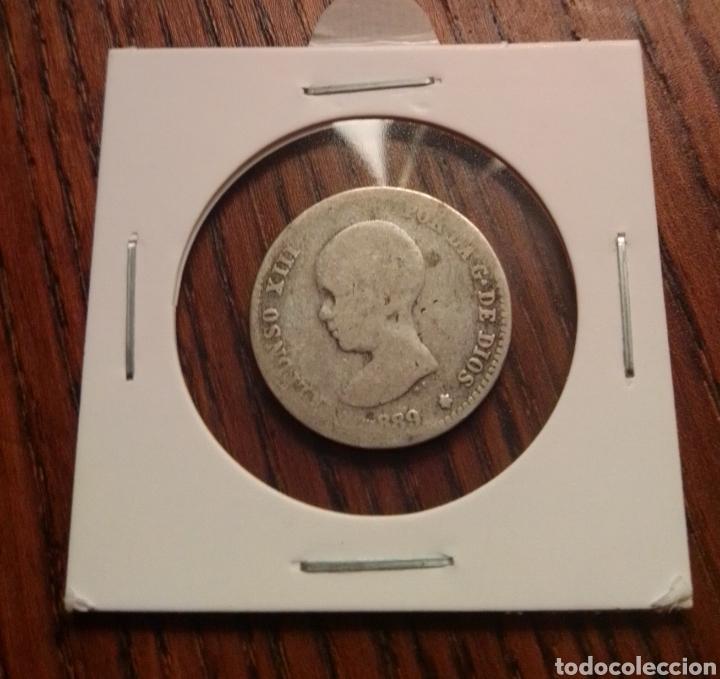 MONEDA 1 PESETA PLATA 1889 (Numismática - España Modernas y Contemporáneas - De Isabel II (1.834) a Alfonso XIII (1.931))