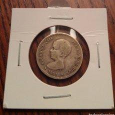 Monedas de España: MONEDA 1 PESETA PLATA 1891. Lote 246189260