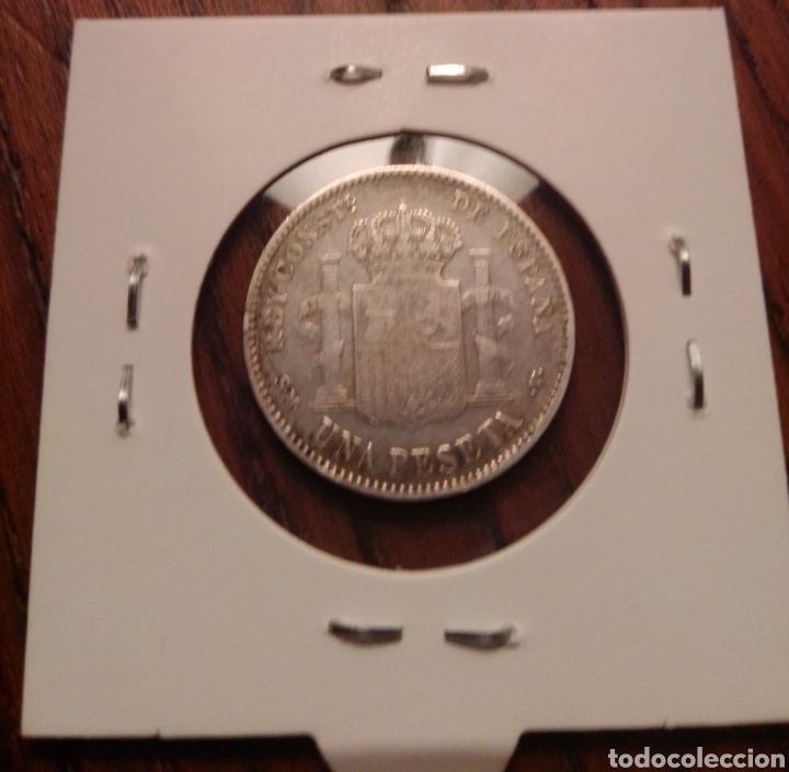 MONEDA 1 PESETA PLATA 1900 (Numismática - España Modernas y Contemporáneas - De Isabel II (1.834) a Alfonso XIII (1.931))