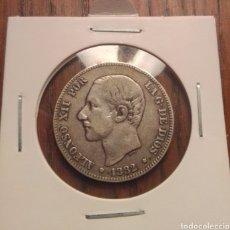Monedas de España: MONEDA 2 PESETAS PLATA 1882. Lote 246281730