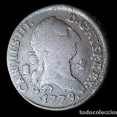 Monedas de España: CARLOS III SEGOVIA BONITOS 4 MARAVEDIS 1779. Lote 246439110