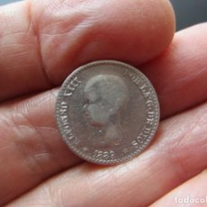 Monedas de España: MONEDA DE 50 CÉNTIMOS DE PLATA DE 1889*8-9 ALFONSO XIII MUY RARA. Lote 247446315