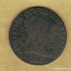 Monedas de España: ISABEL II 8 MARAVEDÍS 1843 SEGOVIA M186. Lote 250341010