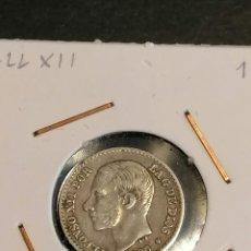 Monedas de España: MONEDA DE ESPAÑA ALFONSO XII 50 CENTIMOS DE 1880 ESTRELLA 80 MSM PLATA EBC * PATINA ORIGINAL. Lote 251093980
