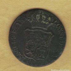 Monedas de España: ISABEL II 6 CUARTOS 1845 CATALUÑA M205. Lote 251122480