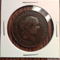 Monedas de España: MONEDA 5 CENTIMOS DE ESCUDO 1868 BARCELONA. Lote 251269240