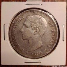 Monedas de España: MONEDA 5 PESETAS PLATA 1876 DEM. Lote 251271115