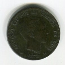 Monedas de España: 10 CENTIMOS ALFONSO XII 1878. Lote 27776910
