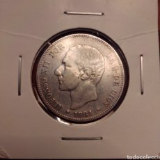 Monedas de España: MONEDA 2 PESETAS PLATA 1881. Lote 251879205
