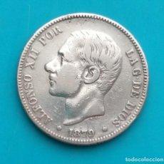 Monedas de España: MONEDA DE 2 PESETAS 1879 *18*7 EM-M ALFONSO XII PLATA 835 MILESIMAS. Lote 251911245