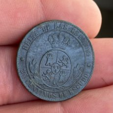 Monedas de España: ISABEL II-2 1/2 CÉNTIMOS DE ESCUDO-1868-SEVILLA- N116. Lote 252749800