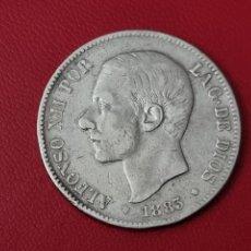 Monedas de España: 5 PESETAS PLATA 1883 LA DE LA FOTO. Lote 253033460