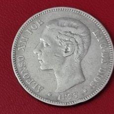 Monedas de España: 5 PESETAS PLATA 1877 LA DE LA FOTO. Lote 253033975