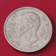 Monedas de España: 5 PESETAS PLATA 1875 LA DE LA FOTO. Lote 253083090