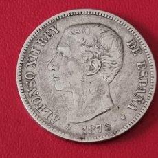 Monedas de España: 5 PESETAS PLATA 1875 LA DE LA FOTO. Lote 253084465