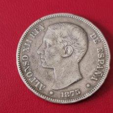Monedas de España: 5 PESETAS PLATA 1875 LA DE LA FOTO. Lote 253093755