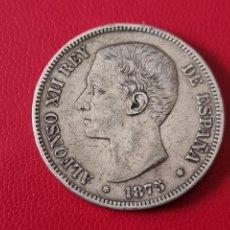 Monedas de España: 5 PESETAS PLATA 1875 LA DE LA FOTO. Lote 253096940