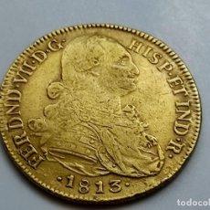 Monedas de España: 8 ESCUDOS 1813 NUEVO REINO. FERNANDO VII . PESO 26,99G. Lote 253129550
