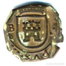 Moedas de Espanha: XS- FELIPE IV 1621 BURGOS 8 MARAVEDÍS JS# F-1 VAR. CECA ENTRE ROELES. Lote 253138920