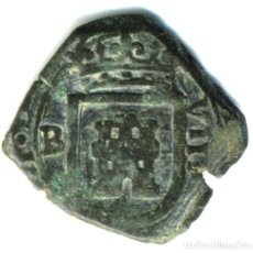 Moedas de Espanha: XS- FELIPE IV 1622 BURGOS 8 MARAVEDÍS JS# F-2. Lote 253139055