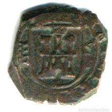 Moedas de Espanha: XS- FELIPE IV 1621 SEGOVIA CASA VIEJA 8 MARAVEDÍS JS# F-129. Lote 253143730