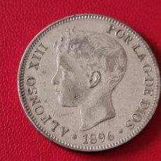 Monedas de España: 5 PESETAS PLATA 1896 LA DE LA FOTO. Lote 253144105