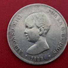 Monedas de España: 5 PESETAS PLATA 1888 LA DE LA FOTO. Lote 253185480