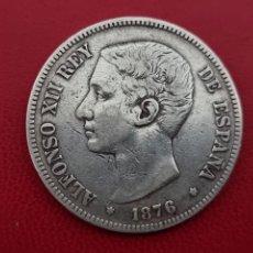 Monedas de España: 5 PESETAS PLATA 1876 LA DE LA FOTO. Lote 253185755
