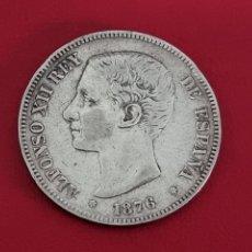 Monedas de España: 5 PESETAS PLATA 1876 LA DE LA FOTO. Lote 253226570