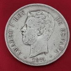 Monedas de España: 5 PESETAS PLATA 1871LA DE LA FOTO. Lote 253228485