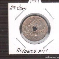 Moedas de Espanha: MONEDAS DE ESPAÑA ALFONSO XIII 25 CENTIMOS 1927. Lote 253238100
