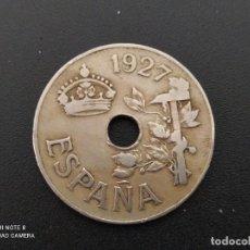 Moedas de Espanha: 25 CENTIMOS DE 1927...BONITA......ES LA.DE LAS FOTOS. Lote 253359735