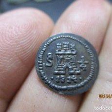 Monedas de España: 1/4 REAL SANTIAGO DE CHILE 1814. Lote 253368455