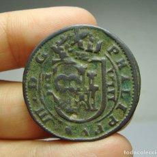 Monedas de España: 8 MARAVEDÍS. FELIPE III. SEGOVIA. RESELLADOS.. Lote 253436315
