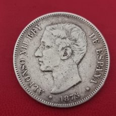 Monedas de España: 5 PESETAS PLATA 1878 LA DE LA FOTO. Lote 253437705