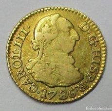 Monedas de España: CARLOS III, 1786. 1/2 ESCUDO DE LA CECA DE MADRID CON ENSAYADORES: D.V. LOTE 3772. Lote 253527385