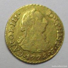 Monedas de España: CARLOS III, 1778. 1/2 ESCUDO DE LA CECA DE SEVILLA CON ENSAYADORES: C.F. LOTE 3774. Lote 253536210