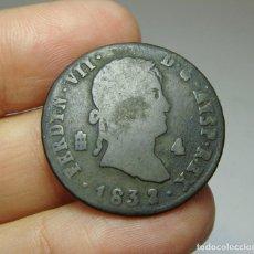 Monedas de España: 4 MARAVEDÍS. FERNANDO VII. SEGOVIA - 1832. Lote 253549740