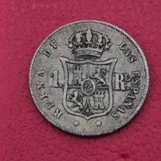 Monedas de España: 1REAL 1853 PLATA LA DE LA FOTO. Lote 253565940