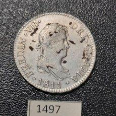 Monedas de España: ESPAÑA 2 REALES 1811 CÁDIZ. Lote 253571620