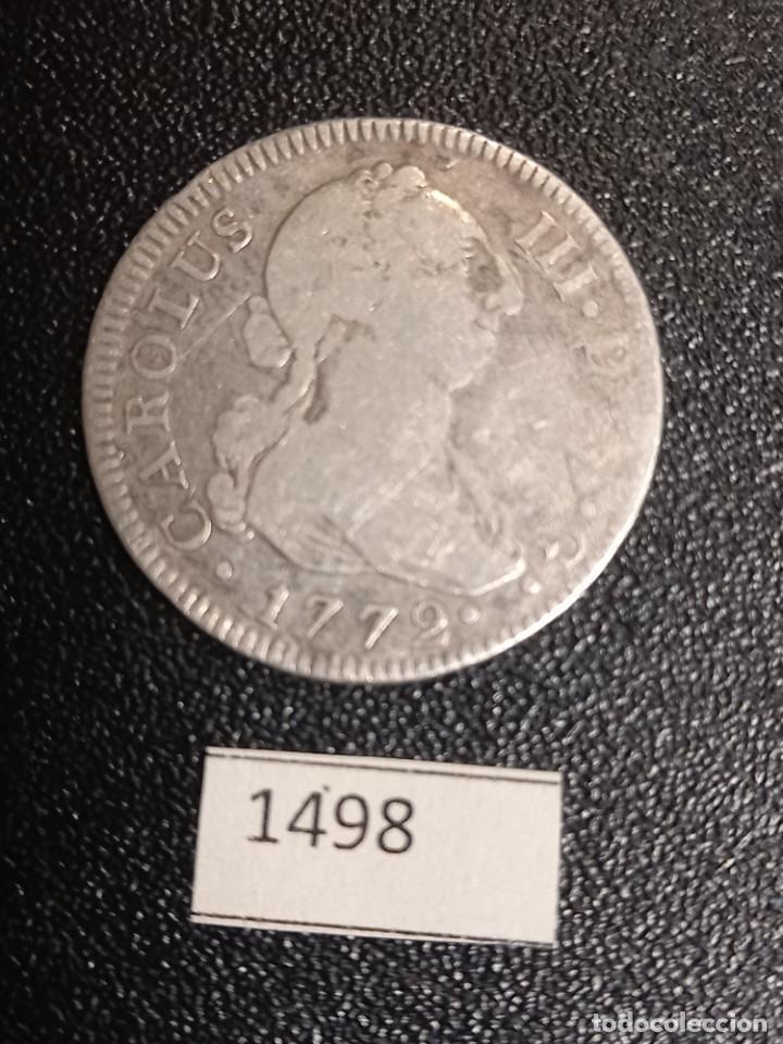 ESPAÑA 2 REALES 1772 MADRID (Numismática - España Modernas y Contemporáneas - De Reyes Católicos (1.474) a Fernando VII (1.833))